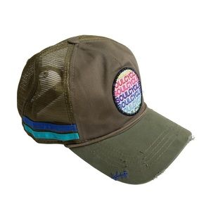 SoulCycle Parch Distressed Trucker Hat - NWT!